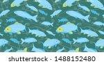 Wavy Sealife Goldfish Koi...