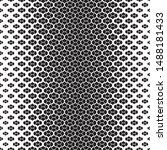 halftone style simple pattern.... | Shutterstock .eps vector #1488181433
