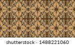 Gold Pattern Texture With...
