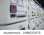 Small photo of Electrical switch gear high Voltage motor control center cabinet in power plant,Breaker module,Electrical selector switch,button switch