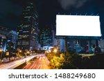 billboard blank for outdoor...   Shutterstock . vector #1488249680