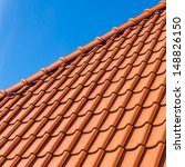 Roof Tile Pattern  Close Up....