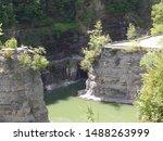 Historic Stone Footbridge Over...