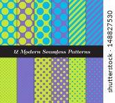 jumbo polka dots  small polka...   Shutterstock .eps vector #148827530