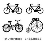 bicycle icons over white... | Shutterstock .eps vector #148828883