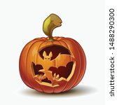 Halloween Cartoon Vector...