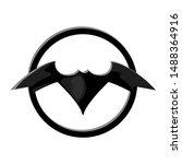 Bat Sign In Circle. Batman...