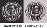 vintage illustration of a... | Shutterstock .eps vector #1488425456