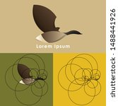 Canadian Goose Logo Design Wit...