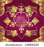 traditional antique ottoman... | Shutterstock .eps vector #14884630