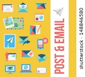email icons | Shutterstock .eps vector #148846580