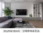Interior In A Modern Style Wit...