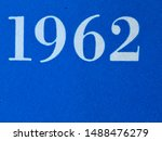The year 1962 as printed on the cover of a journal published that year