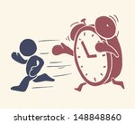 vintage conceptual illustration ...   Shutterstock .eps vector #148848860