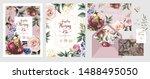 wedding invitation  save the... | Shutterstock .eps vector #1488495050