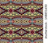 geometry vintage floral...   Shutterstock .eps vector #148851650