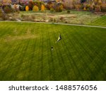 Man Flying Kite In West Park ...