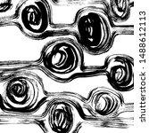 brush pattern. abstract texture....   Shutterstock .eps vector #1488612113
