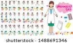 Pharmacist Pose Variation 50...