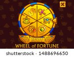 wheel of fortune in egyptian...