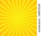 sun ray star burst television... | Shutterstock . vector #148870169