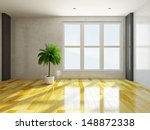 the empty room with stucco wall ... | Shutterstock . vector #148872338