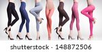 collection of colorful tights... | Shutterstock . vector #148872506