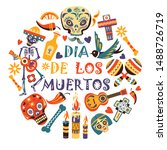 Day Of Dead  Dia De Los Moertos ...