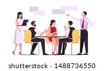 discussion and brainstorming in ...   Shutterstock .eps vector #1488736550