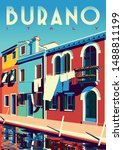 Sunny Summer Day In Burano ...