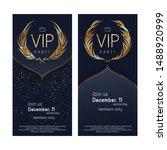 vip club party premium... | Shutterstock .eps vector #1488920999