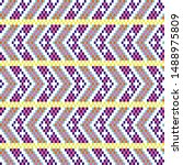 bold arrow chevron seamless...   Shutterstock .eps vector #1488975809