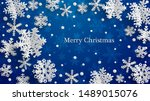 christmas illustration with...   Shutterstock . vector #1489015076