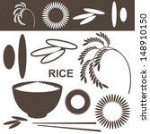 rice. set. vector illustration | Shutterstock .eps vector #148910150