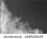 fog and smoke isolated on... | Shutterstock .eps vector #1489200359