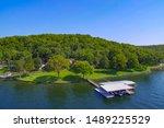 Lakeside Home And Dock At Lake...