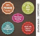 collection of premium quality | Shutterstock .eps vector #148924460