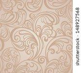 seamless floral pattern | Shutterstock .eps vector #148927568