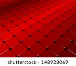 Fleeing Tiles With Red Color...