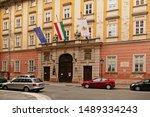 budapest  hungary   june 13....   Shutterstock . vector #1489334243