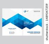 cover design for presentations... | Shutterstock .eps vector #1489347359