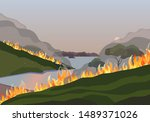 Forest Fires Disaster Mountain...