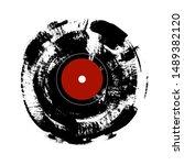 Grunge Hand Painted Vinyl...