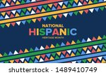 national hispanic heritage... | Shutterstock .eps vector #1489410749