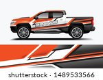truck and car decal design... | Shutterstock .eps vector #1489533566