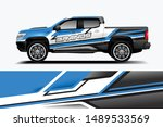 truck and car decal design...   Shutterstock .eps vector #1489533569