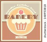 bakery shop vector template... | Shutterstock .eps vector #148953818