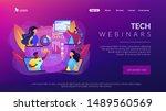 digital education  internet... | Shutterstock .eps vector #1489560569