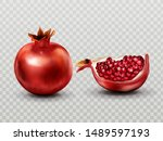 Pomegranate Whole And Quarter...