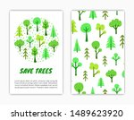 card templates with... | Shutterstock .eps vector #1489623920